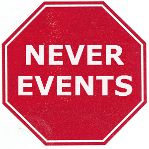 NEVER EVENTS