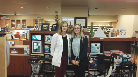 Hayley Gorton_Pharmacy trip photo