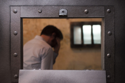 Distraught Prisoner